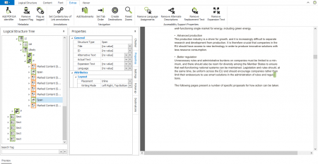 Screenshot axesPDf QuickFix: Detailed expert views